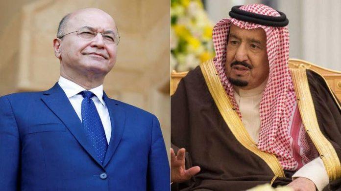 Saudi King, Iraqi president review regional situation after US strike