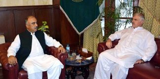 CM, Governor discuss development projects in Khyber Pakhtunkhwa