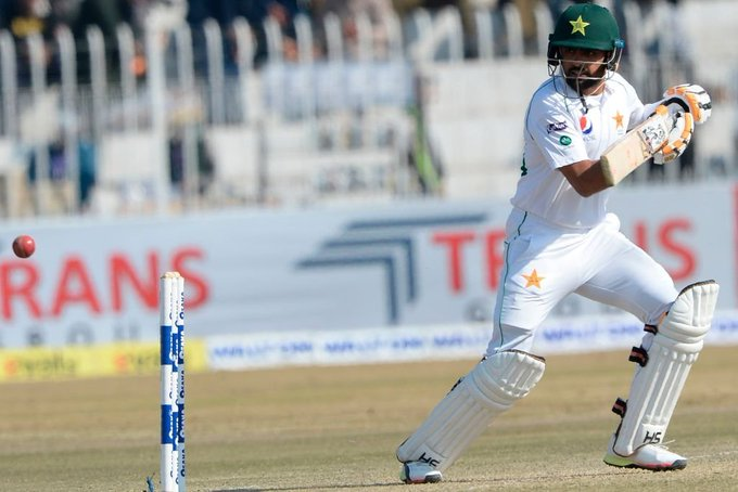 Babar Azam hits ton to take lead against Bangladesh in first Test