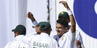 Pakistan field against Bangladesh in Rawalpindi Test