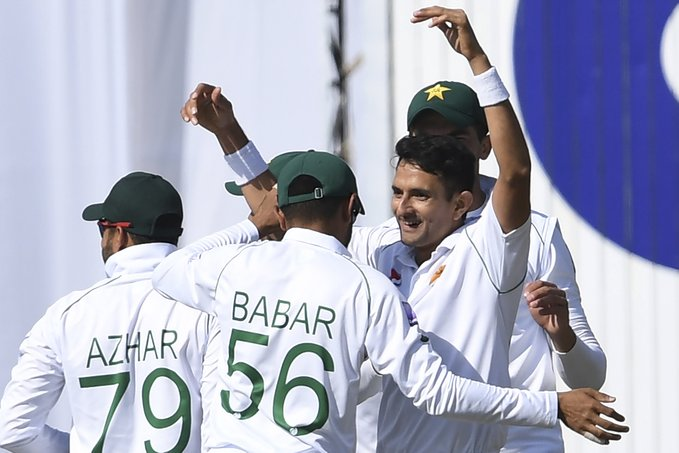 Pakistan field against Bangladesh in Rawalpindi Test