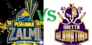PSL 2020: Quetta Gladiators take on Peshawar Zalmi today