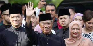Malaysia's Muhyiddin Yassin sworn in new prime minister as Mahathir forced out