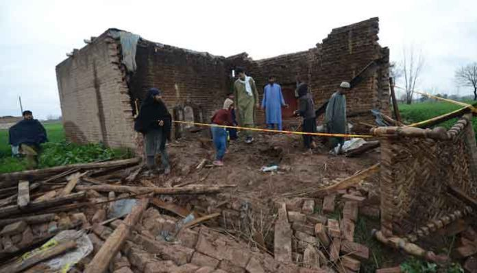 Nine killed in different incidents during recent rains in KP