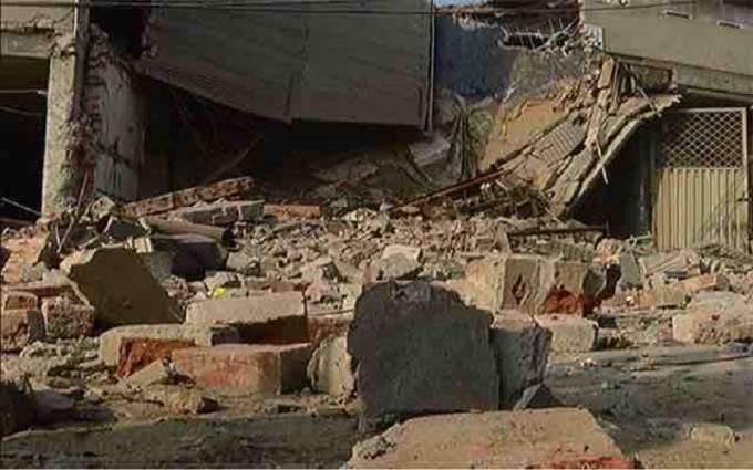 Two children killed in roof collapse incident in Peshawar