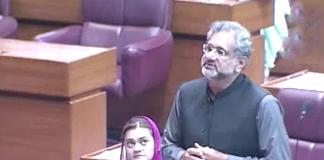 Khaqan Abbasi urges govt to take urgent measures to combat coronavirus