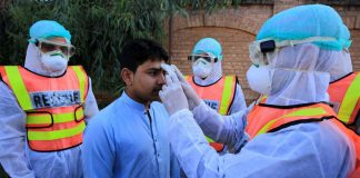 Pakistan reports 93 deaths from coronavirus, 5374 infected cases