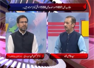 Cross Talk with Syed Wiqas Shah   6th April 2020   Khyber News