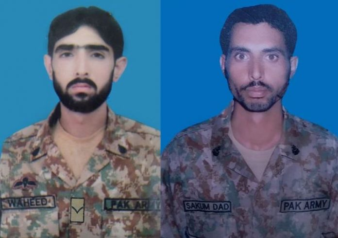 Two soldiers martyred, nine terrorists killed in North Waziristan operation