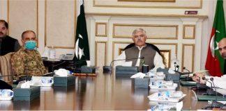 KP govt discuss resumption of inter-district public transport