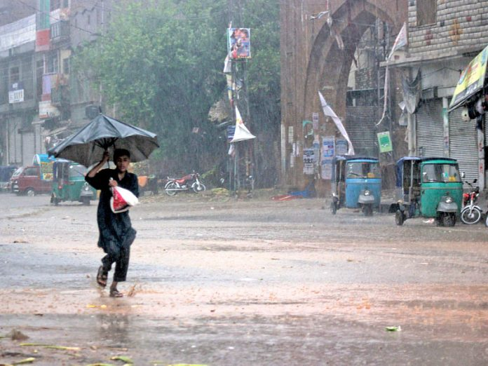PDMA issues rain alert from Thursday to Tuesday for Khyber Pakhtunkhwa