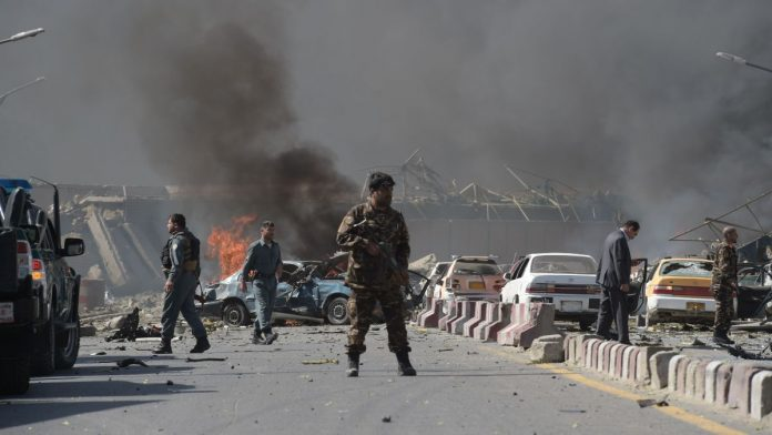 Four back-to-back bomb explosions rock Kabul: police