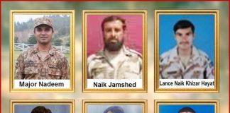 Major among 6 soldiers martyred in IED blast in Buleda, Balochistan