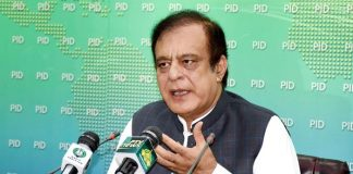 Corrupt political forces want minus one formula to destabilize govt: Shibli