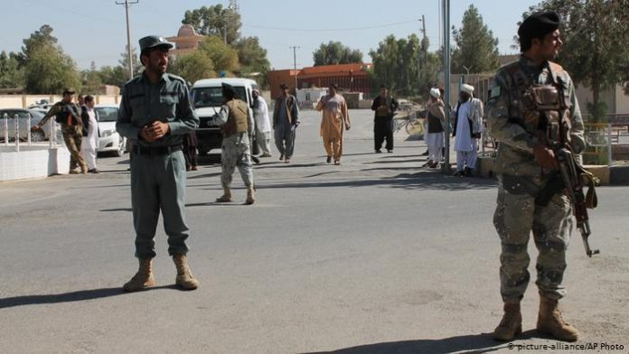 Taliban blamed for attack on Afghan checkpoint killing seven police officers