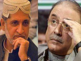 Akhtar Mengal, Asif Zardari discuss political situation