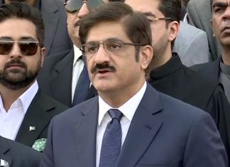 CM Sindh Murad Ali Shah appears before NAB in fake bank accounts case