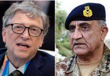 Army Chief Gen Bajwa, Bill Gates discuss polio eradication derive in Pakistan