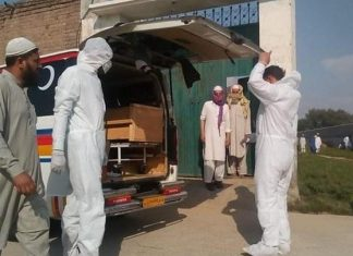 Pakistan reports 50 deaths by coronavirus, 1,979 cases in a day