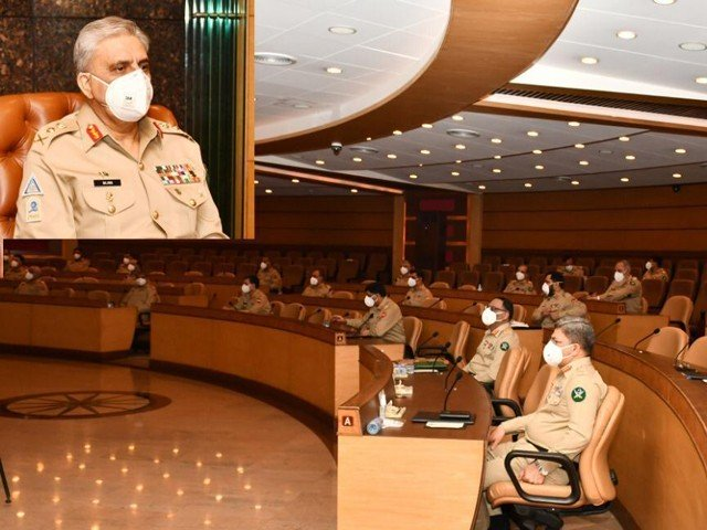 Corps Commanders express resolve to thwart Indian designs in Occupied Kashmir