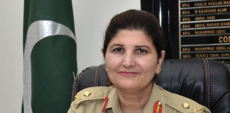 Pakistan Army gets its first woman lieutenant general