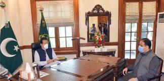 PM Imran, CM Buzdar discuss coronavirus situation in Punjab