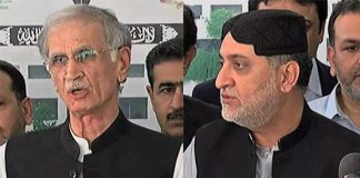 Pervez Khattak phones Akhtar Mengal as govt moves to pacify disgruntled ally
