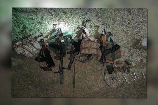 Four terrorists killed as security forces foil major terror bid in Peshawar