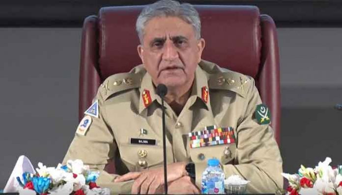 Will not allow enemy's nefarious designs to destabilize Pakistan's peace: COAS