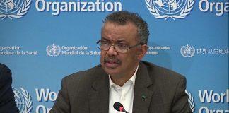WHO warns that coronavirus pandemic is accelerating