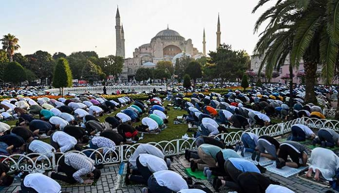 Saudi Arabia, Indonesia, Malaysia celebrate Eid-ul-Adha with masks and social distancing
