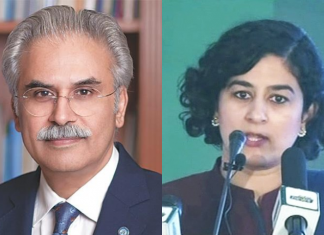 Tania Aidrus, Dr Zafar Mirza resign as special assistants to prime minister