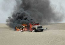 Two ANF personnel martyred in smugglers attack in Balochistan's Mashkel