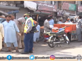 Cattle Markets in Peshawar opened, Implementing Corona SOPs has become a challenge Khyber News