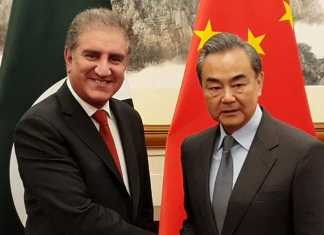 FM Qureshi, Chinese counterpart agree to promote mutual cooperation