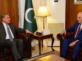 FM Qureshi, Zalmay Khalilzad discuss Afghanistan peace process