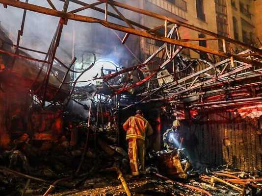 Gas explosion at medical clinic kills 19 in Iran