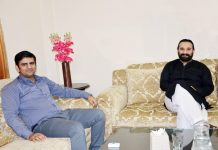 AGM AVT Channels Kaiwan Hamid Raja visits KP House in Islamabad