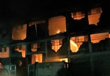 Fire engulfs three factories in Karachi as firefighters struggle to extinguish the blaze