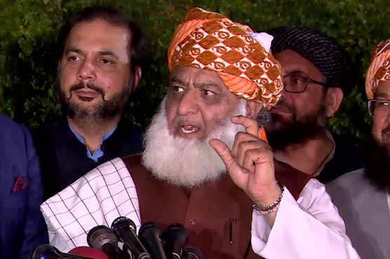 PTI govt failed to resolve country's issues: Fazal-ur-Rehman