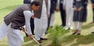 PM Imran Khan inaugurates monsoon tree plantation drive