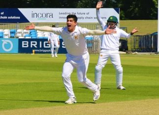 Abbas, Naseem shine on day one of four-day practice game