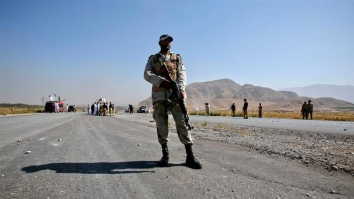 Three soldiers martyred, eight injured in terrorists attack near Panjgur