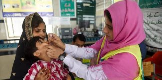 Countrywide anti-polio campaign begins after four months suspension due to COVID-19