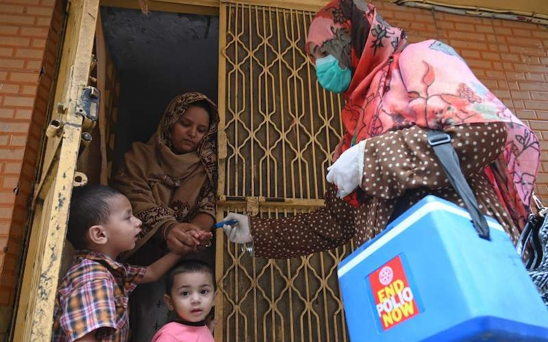 Anti-polio campaign continues on fourth day across Pakistan