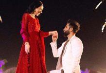 Sarah Khan, Falak Shabir kick off wedding festivities after engagement