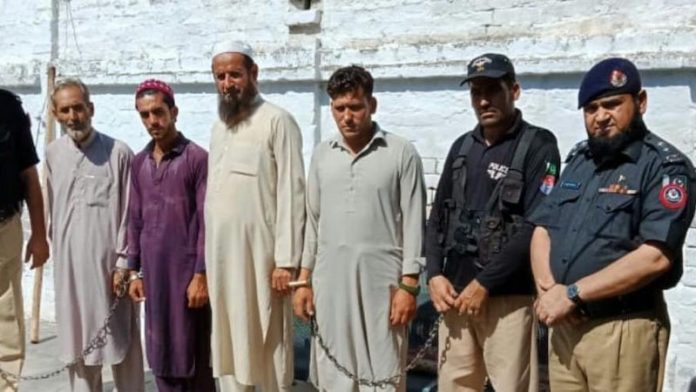 Four men arrested for destroying Buddha statue in Takht Bhai