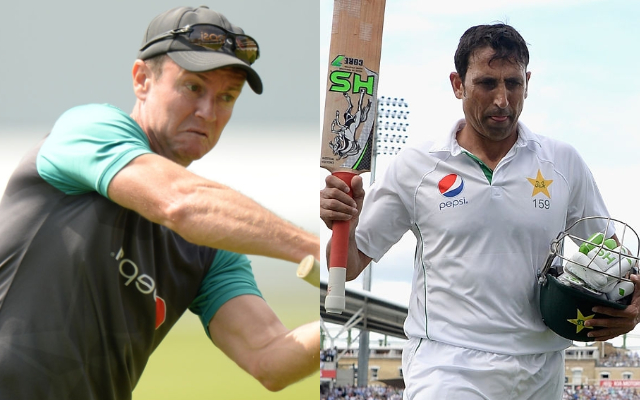 Younis Khan held a knife to my throat when I offered him batting advice: Flower