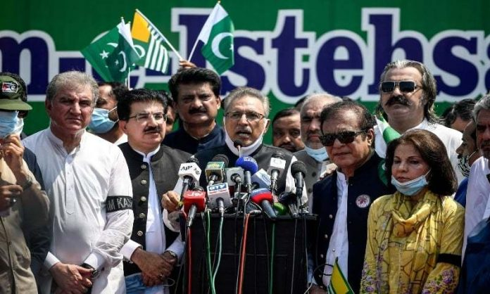 Youm-e-Istehsal Kashmir: India learned how to change regional demography from Israel, says President Alvi