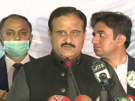 'Don't Say Anything Against NAB': Fayyaz Chohan Whispers To CM Buzdar During Media Talk